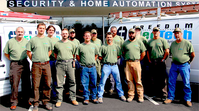 Freedom Electech - Boone NC Electricians Security and Home Automation Systems